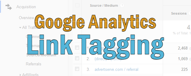 Google Analytics Link Tagging
