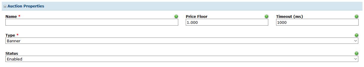 Header Bidding: Auctions